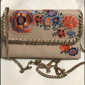 Top Shop Clutch Shoulder Bag Chain Strap